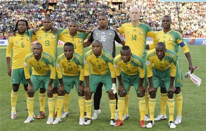 South Africa Iraq Confed Cup Soccer