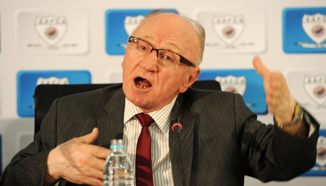 Ted Dumitru, SAFCA Technical Advisor during the South African Football Coaches Association at SAFA House, Johannesburg on 22 October 2014 ©Muzi Ntombela/BackpagePix